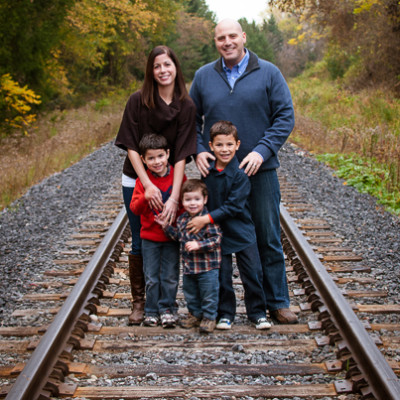 Fall Photos of Five - { Newmarket Family Photographer }