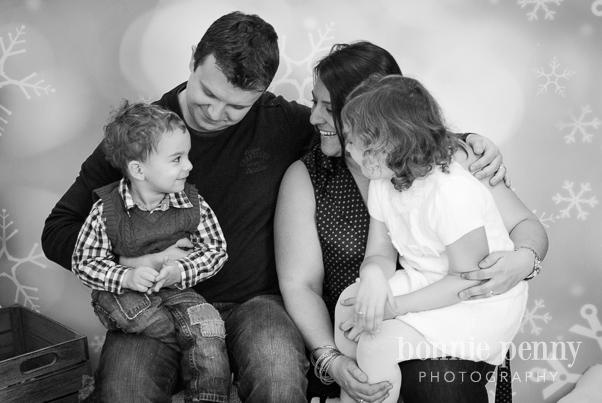 A Festive Family of Four