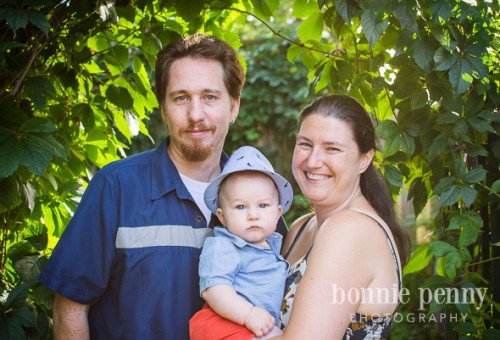In The Garden - A Toronto Family Photo Session