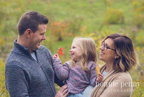 Fall Family Session - Loving this family of three
